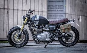down out cafe racers triumph t100 the bike shed