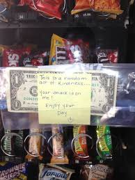 Dollar With Tape Vending Machine Gorgeous 48 Best Pay It ForwardIdeas For Random Acts O Kindness Images On