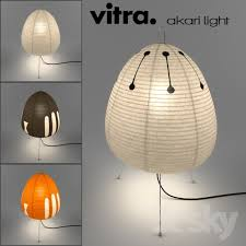Image Vitra Design Vitra Akari Light Einrichtendesigncom 3d Models Table Lamp Vitra Akari Light