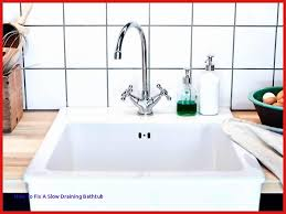 how to fix slow draining bathroom sink 20 luxury how to fix a slow draining bathtub