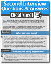 Questions For Second Interview How To Ace A Second Interview Questions Example Answers Included