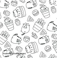 Pusheen Coloring Pages Unicorn Download This Page Birthday Online