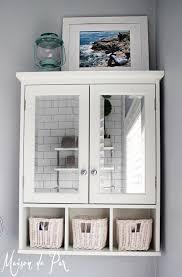 master bath medicine cabinet over the toilet