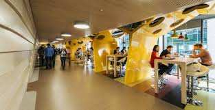 Google office environment Workers The Latest In Office Design From Google Studio Em The Latest In Office Design From Google Studio Em