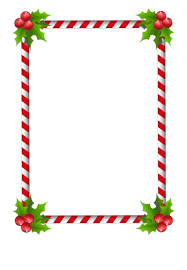 Christmas Border Design Images Clipart Transparent Background Christmas Border Design