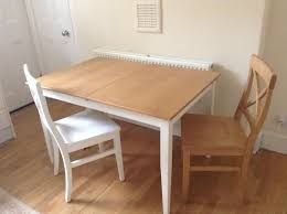 john lewis alba 4 6 seater extending dining table with chairs white oak london gumtree