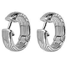 <b>Серьги коллекции Totem Wolf/Волк</b> из серебра. Диаметр 12 мм ...