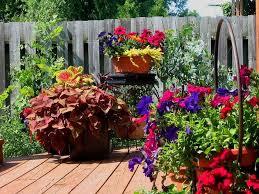 container garden design. Outdoor Flower Planter Ideas Container Garden Design