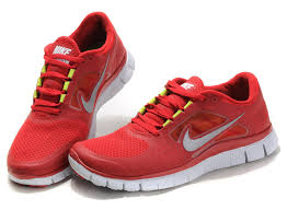 nike running shoes red and white. nike free run 3 running shoe womens gym red white reflect silver volt shoes and b