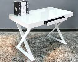 contemporary desks for office. White Metal Amp Glass Office Desk Contemporary Freedom To . Modern Computer Desks For H