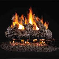 18 peterson real fyre vented rustic oak gas logs logs only