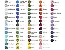Tourmaline Color Chart Custom Designed And Handcrafted Jewelry