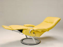 modern leather recliner chair. Kiri Modern Leather Recliner Chair By LAFER Larger Image N