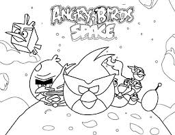 Small Picture Popular Game Angry Birds Space Coloring Pages Batch Coloring
