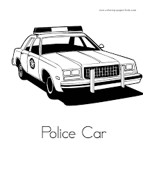 Small Picture police car coloring sheet Coloring pages Pinterest Kids