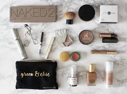 ma trousse make up minimaliste green et conventionnel naturally lety zao makeup