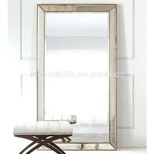 Bedroom Stand Alone Mirror Oversized Floor Standing Mirrors White