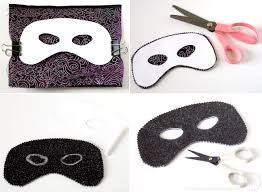 template mardi gras mask