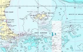 Rio De La Plata To Cabo De Hornos Marine Chart