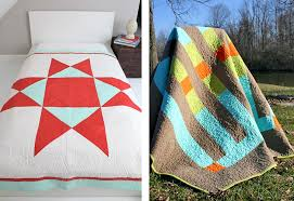 Heather Jones' Wonky Block Modern Quilting Project | Sew4Home & Click to Enlarge Adamdwight.com