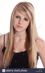 Blond teen european blond girl
