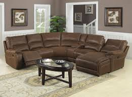 Living Room Furniture Sectionals Furniture Best Choice Of Brown Leather Sectional With Chaise To