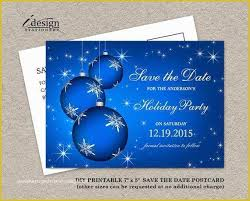 Christmas Party Save The Date Templates 42 Save The Date Holiday Party Templates Free