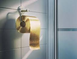 gold flake toilet paper. $1 million gold toilet paper flake d