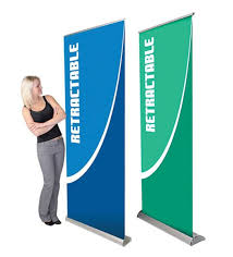 Artistic Displays Banner Stands Impressive Artistic Displays Banner Stands Aluminum 32×32 Retractable Roll Up