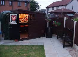 convert shed to office. If You Want To Entertain Your Guests, Why Not Turn The Shed Into A Mini Outdoor Pub? Simply Insert Bar Counter, Some Stools, And Stock Up Fridge Convert Office