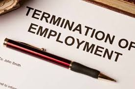 Termination Letter Of An Employee | The Getway Consultants