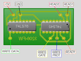 famicom disk system fd3206 write mod famicom world printed circuit board wiring diagram