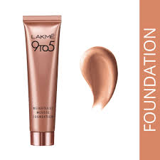 lakme 9 to 5 mousse foundation lakme 9 to 5 weightless mousse foundation in india