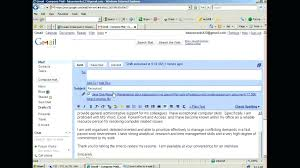 Subject For Sending Resume On Email When A By How To Send Cover New How To Send Resume Via Email