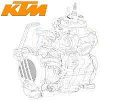 ktm announces fuel injected 2 stroke enduros news schematic of ktm s fuel injected 2 stroke engine