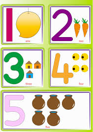 Number Chart 1 5 Number Recognition Worksheets Activities Hubpages