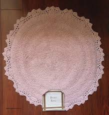 shabby chic bath rugs inspirational shabby cottage chic soft pink bath rug crochet scallop