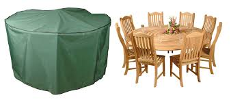 bosmere premier 300cm 8 10 seater green circular patio set garden furniture cover 124 99