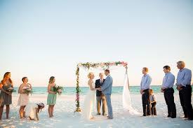 intimate beach wedding in destin florida photo by sarahlyn