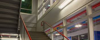 Stairwell Lighting Occupancy Sensor Stairwell Warehouse Industrial Markets Hubbell