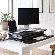 full size desk simple stand. P36-BLK Varidesk Pro 36 Stand Up Desk / For Single Or Dual Displays W/Large Workspace! Full Size Simple