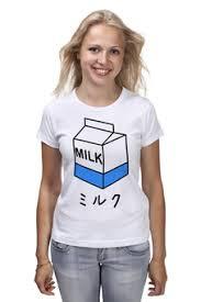 Толстовки, кружки, чехлы, футболки с принтом молоко, а также ...