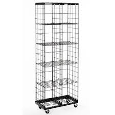 Mobile Wire Grid Cube Display