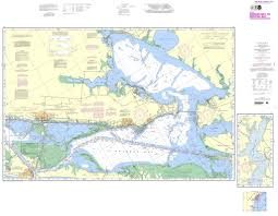 Intracoastal Waterway Nautical Charts Noaa 11314pf Intracoastal Waterway Carlos Bay To Redfish Bay Including Copano Bay