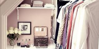 make the most of every inch by incorporating shelving even if throughout closet on wall