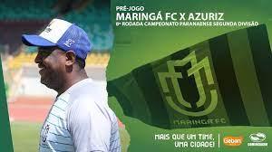 Maringá Futebol Clube - MFC - Pré-jogo Maringá FC x Azuriz - 8ª Rodada  Paranaense 2020
