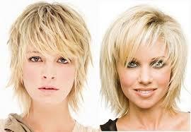 Aké Módne ženské účesy Rok Asymetrické Zrážky Pre Krátke Vlasy