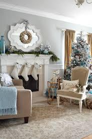 christmas theme living room decoration