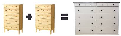ikea tarva dresser hack. Unique Unfinished Dresser Ikea Hacking Tarva Hack