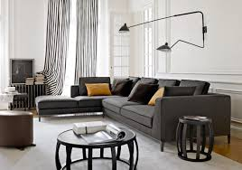 Modern Gray Living Room Dark Grey Living Room Furniture
